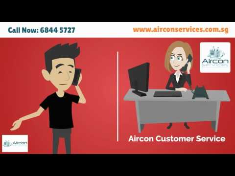 Aircon Servicing (Singapore) - Video